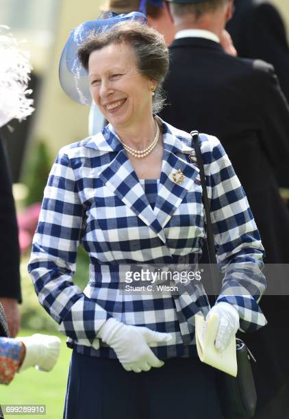 Princess Anne the Princess Royal attends Royal Ascot 2017 at Ascot Racecourse on June 21 2017 in Ascot England