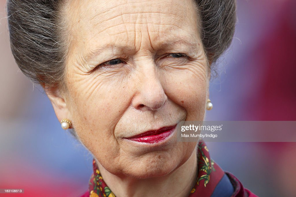 Princess Anne, The Princess Royal attends the Afghanistan Operational Medal Presentation Parade to troops of the Explosive Ordnance Disposal Task Force (11 Explosive Ordnance Disposal Regiment, Royal Logistic Corps) on October 4, 2013 in Didcot, England.