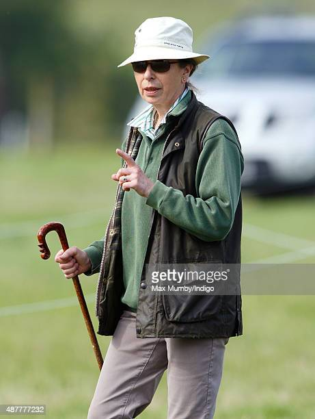 Princess Anne The Princess Royal attends the Whatley Manor International Horse Trials at Gatcombe Park on September 11 2015 in Stroud England