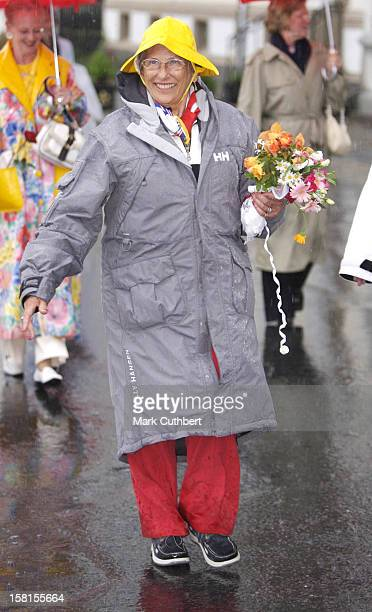 Princess Astrid Attends Queen Sonja Of Norway'S 70Th Birthday CelebrationsTour The City Of Arendal
