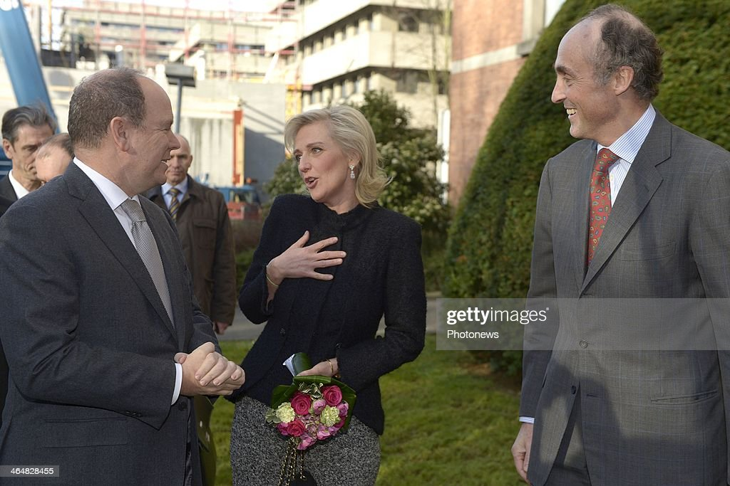 <a gi-track='captionPersonalityLinkClicked' href=/galleries/search?phrase=Princess+Astrid+of+Belgium+-+Born+1962&family=editorial&specificpeople=674584 ng-click='$event.stopPropagation()'>Princess Astrid of Belgium</a> attends an event with her husband <a gi-track='captionPersonalityLinkClicked' href=/galleries/search?phrase=Prince+Lorenz+of+Belgium&family=editorial&specificpeople=2468609 ng-click='$event.stopPropagation()'>Prince Lorenz of Belgium</a> (R) to pass her role as honorary president of the European Organisation for Research and Treatment of Cancer (EORTC) to Prince Albert of Monaco on January 24, 2014 in Brussels, Belgium.