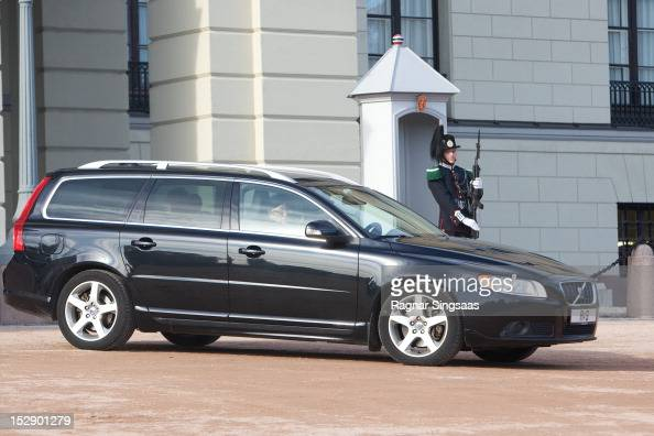 Princess Astrid of Norway attends the funeral of Her Highness Princess Ragnhild Mrs Lorentzen on September 28 2012 in Oslo Norway The funeral service...