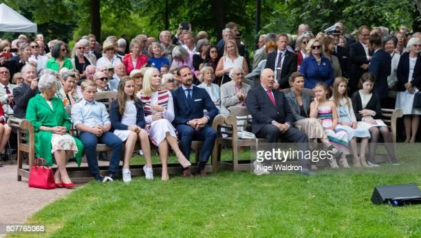 Princess Astrid of Norway Prince Sverre Magnus of Norway Princess Ingrid Alexandra of Norway Princess Mette Marit of Norway Prince Haakon of Norway...