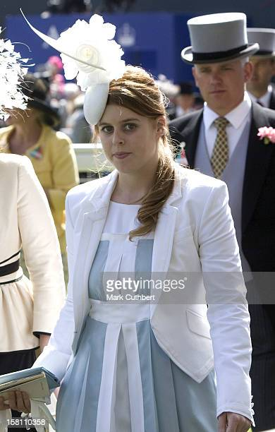 Princess Beatrice Attending Ladies Day At Royal Ascot Berkshire