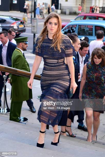 Princess Beatrice attending the V and A Summer Party held at the Victoria Albert Museum London