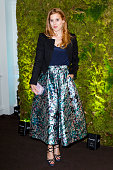 Princess Beatrice attends a fundraising gala auction and dinner hosted by Harrods in aid of the Garden Bridge Trust in its flagship restauraunt The...