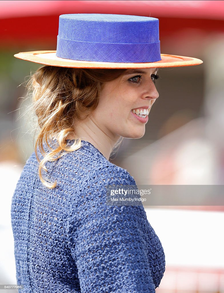 Princess Beatrice attends day 3 'Ladies Day' of Royal Ascot at Ascot Racecourse on June 16, 2016 in Ascot, England.