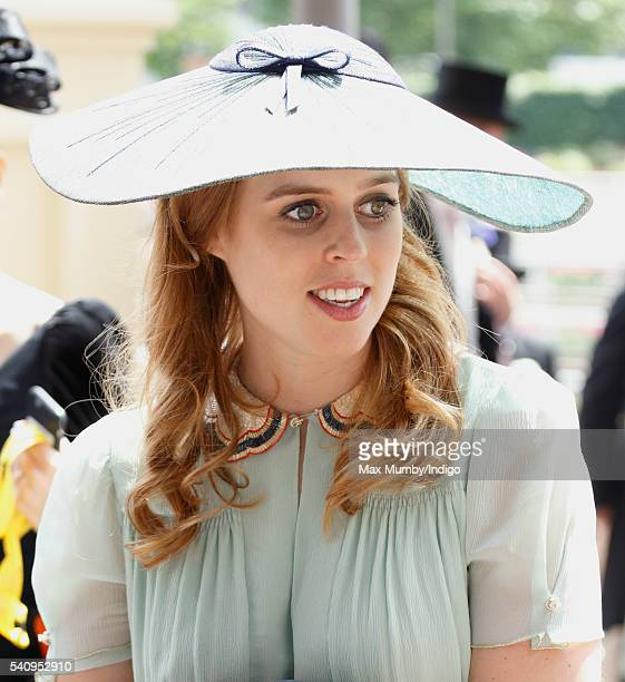 Princess Beatrice attends day 4 of Royal Ascot at Ascot Racecourse on June 17 2016 in Ascot England