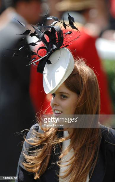 Princess Beatrice attends day one of Royal Ascot on June 17 2008 in Ascot England