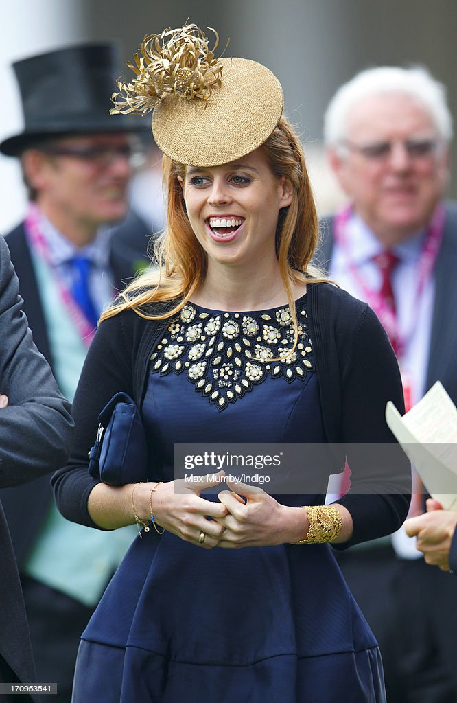 Princess Beatrice attends Ladies Day of Royal Ascot at Ascot Racecourse on June 20, 2013 in Ascot, England.