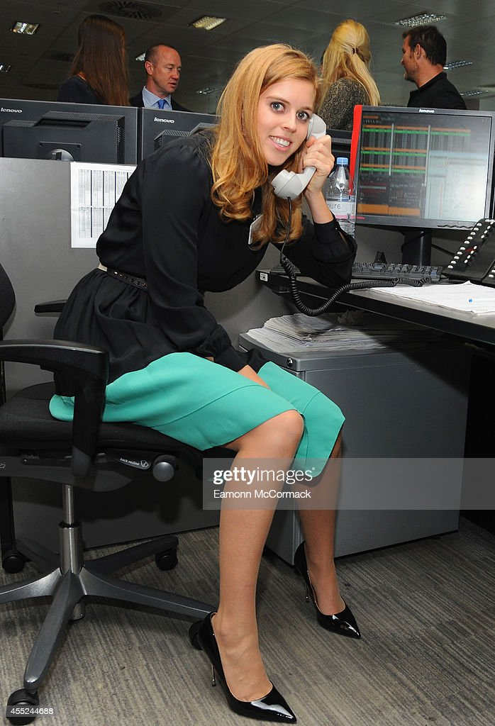 Princess Beatrice attends the annual BGC Global Charity Day at BGC Partners on September 11 2014 in London England