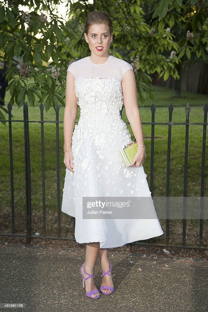 Princess Beatrice attends the annual Serpentine Galley Summer Party at The Serpentine Gallery on July 1, 2014 in London, England.