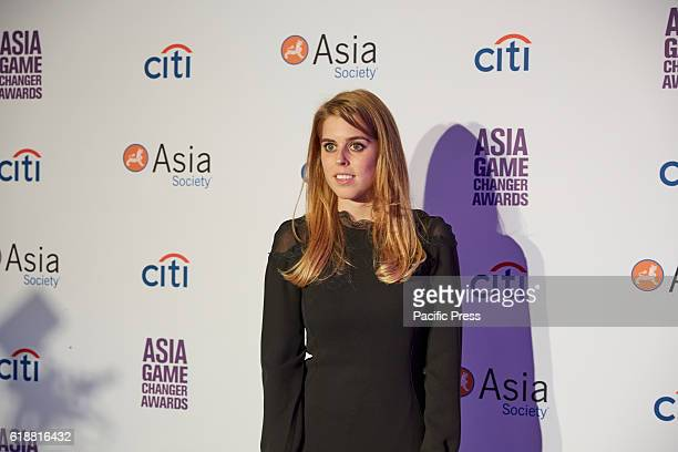 Princess Beatrice Elizabeth Mary of York during the Asia Game Changers 2016 Awards held at the United Nations Headquarters