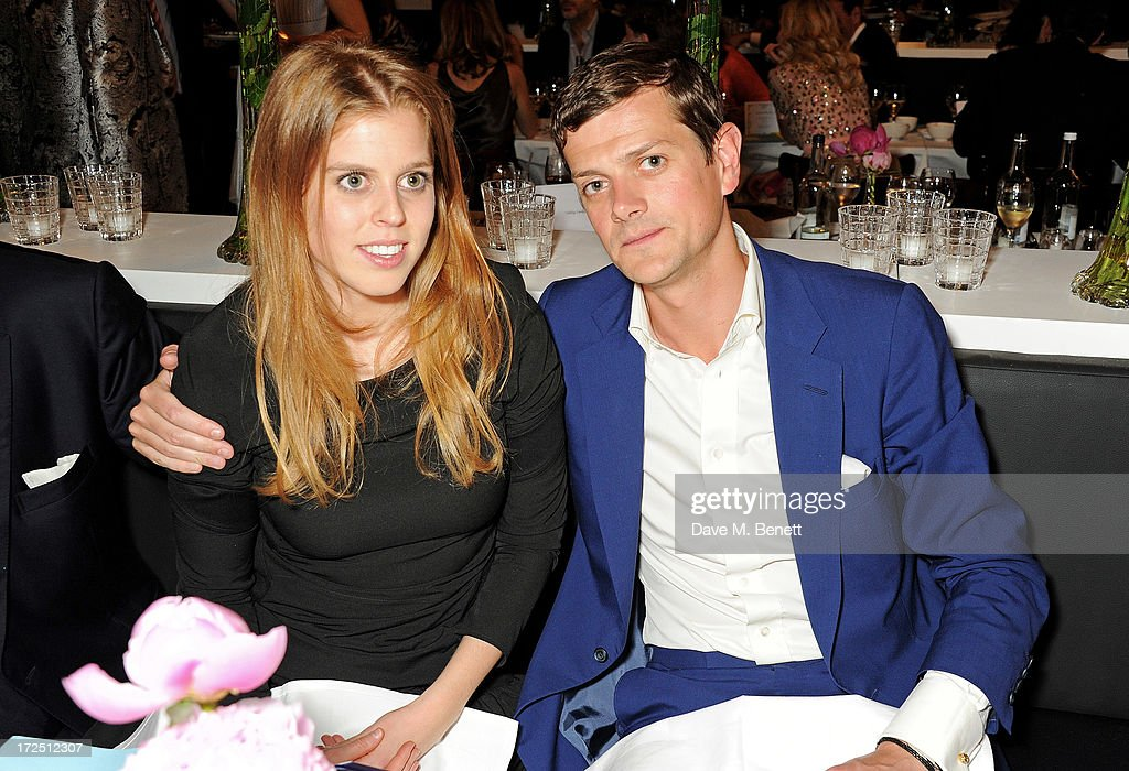 Princess Beatrice of York (L) and <a gi-track='captionPersonalityLinkClicked' href=/galleries/search?phrase=Alexander+Spencer-Churchill&family=editorial&specificpeople=2359046 ng-click='$event.stopPropagation()'>Alexander Spencer-Churchill</a> attend The Masterpiece Midsummer Party in aid of Marie Curie Cancer Care, hosted by Heather Kerzner, at The Royal Hospital Chelsea on July 2, 2013 in London, England. Marie Curie Nurses provide free end of life care to patients with terminal illness in their own homes or in one of its nine hospices.