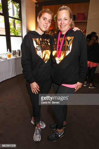 Princess Beatrice of York and Astrid Harbord attend the Lady Garden brunch following the 5K 10K Fun Run in aid of Silent No More Gynaecological...