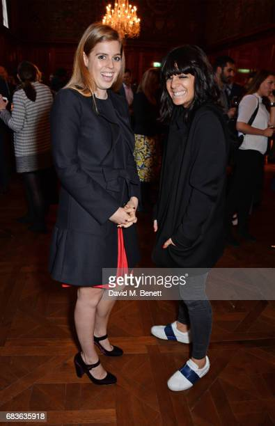 Princess Beatrice of York and Claudia Winkleman attend Oscar's Book Prize 2017 in association with the London Evening Standard at The Ned on May 15...