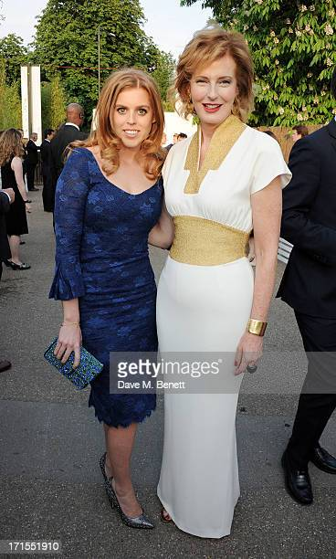 Princess Beatrice of York and Codirector of the Serpentine Gallery Julia PeytonJones attend the annual Serpentine Gallery Summer Party cohosted by...