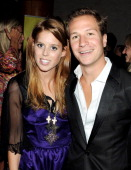Princess Beatrice of York and Dave Clark attend 'Freddie For A Day' celebrating Freddie Mercury's 65th birthday in aid of The Mercury Pheonix Trust...