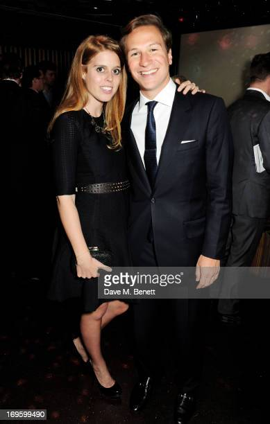 Princess Beatrice of York and Dave Clark attend the launch of 'The New Digital Age Reshaping The Future Of People Nations and Business' by Eric...
