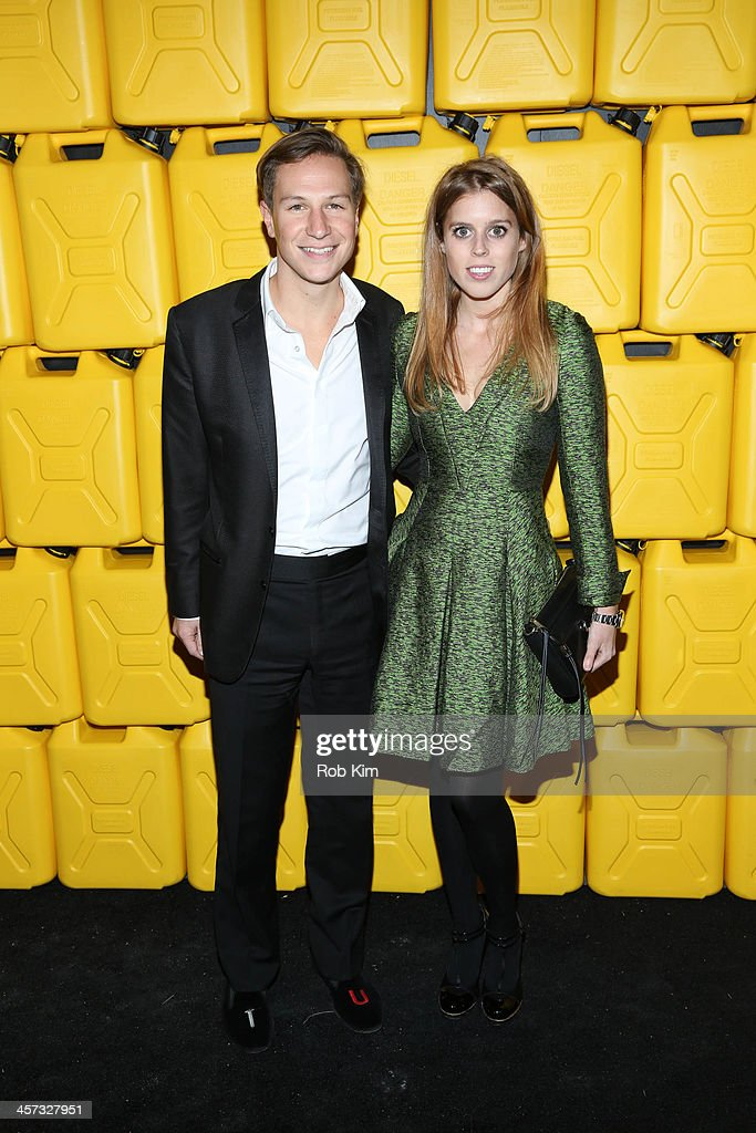 Princess Beatrice of York and David Clark attend the 8th annual charity: ball Gala at the Duggal Greenhouse on December 16, 2013 in the Brooklyn borough of New York City.