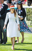 Princess Beatrice of York and Princess Eugenie of York attends Ladies Day on day 3 of Royal Ascot at Ascot Racecourse on June 18 2015 in Ascot England