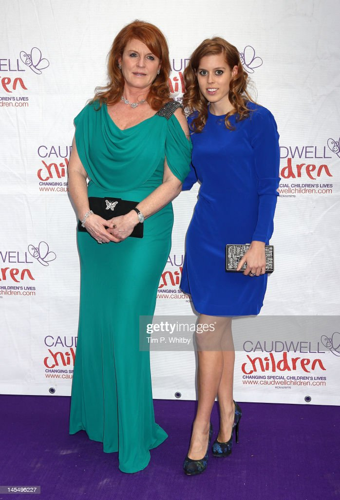 <a gi-track='captionPersonalityLinkClicked' href=/galleries/search?phrase=Princess+Beatrice+of+York&family=editorial&specificpeople=531999 ng-click='$event.stopPropagation()'>Princess Beatrice of York</a> (R) and <a gi-track='captionPersonalityLinkClicked' href=/galleries/search?phrase=Sarah+Ferguson+-+Duchess+of+York&family=editorial&specificpeople=160596 ng-click='$event.stopPropagation()'>Sarah Ferguson</a>, Duchess of York attend The Diamond Butterfly Ball in aid of Caudwell Children at Battersea Evolution on May 31, 2012 in London, England.