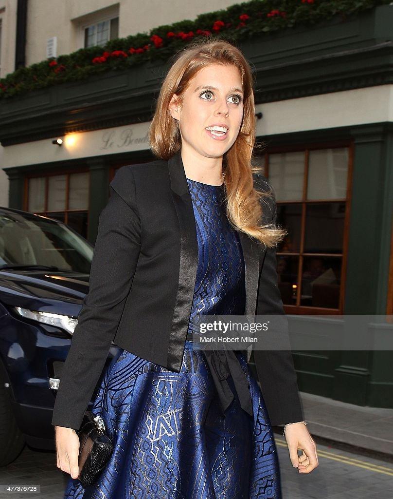2c6b627179f Princess Beatrice of York At Lou Lou s club on June 16