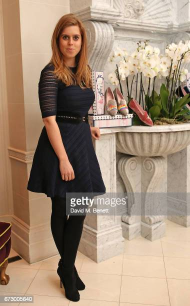 Princess Beatrice of York attends a VIP dinner celebrating Mrs Alice for French Sole at The Connaught Hotel on April 25 2017 in London England