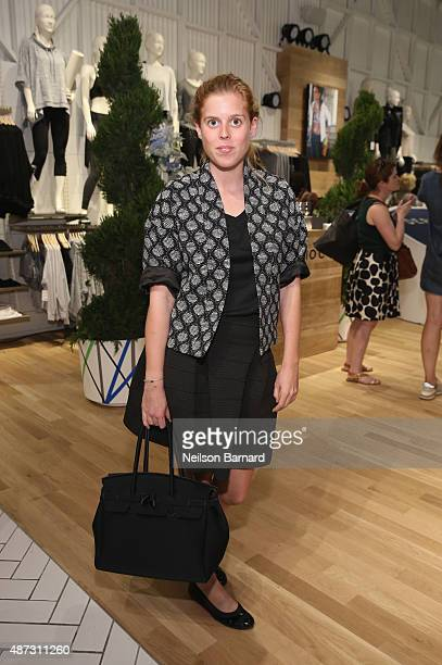 Princess Beatrice of York attends Derek Lam 10C Athleta launch party at Athleta's new Soho store on September 8 2015 in New York City