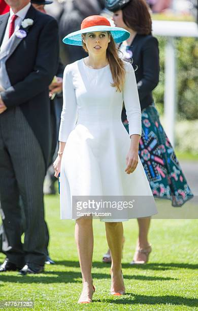 Princess Beatrice of York attends Ladies Day on day 3 of Royal Ascot at Ascot Racecourse on June 18 2015 in Ascot England