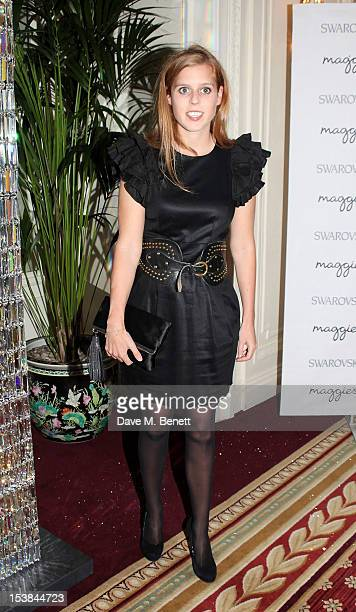 Princess Beatrice of York attends Maggie's Autumn Party supported by Swarovski at the Mandarin Oriental Hyde Park on October 9 2012 in London England