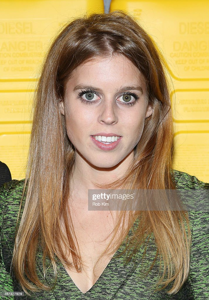Princess Beatrice of York attends the 8th annual charity: ball Gala at the Duggal Greenhouse on December 16, 2013 in the Brooklyn borough of New York City.