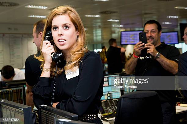 Princess Beatrice of York attends the annual BGC Global Charity Day at BGC Partners on September 11 2014 in London England