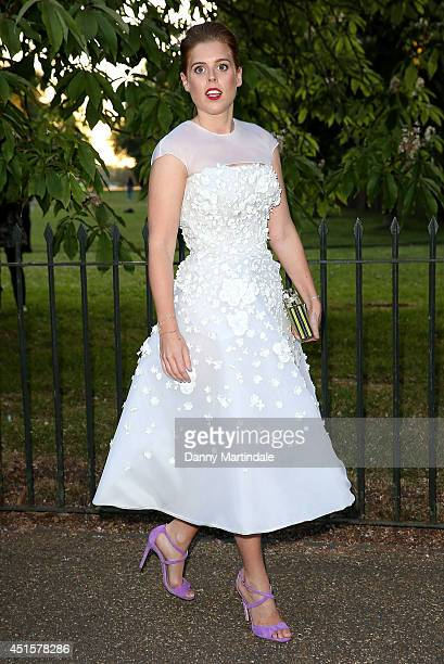 Princess Beatrice of York attends the annual Serpentine Galley Summer Party at The Serpentine Gallery on July 1 2014 in London England