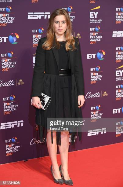 Princess Beatrice of York attends the BT Sport Industry Awards at Battersea Evolution on April 27 2017 in London England