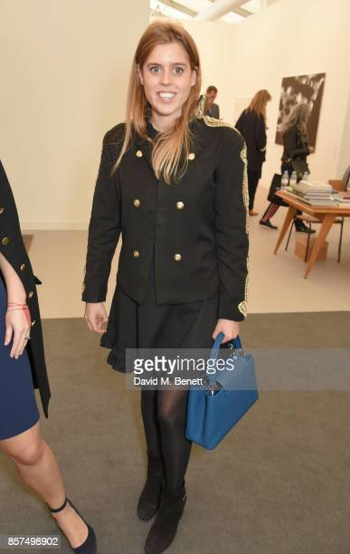 Princess Beatrice of York attends the Frieze Art Fair 2017 VIP Preview in Regent's Park on October 4 2017 in London England