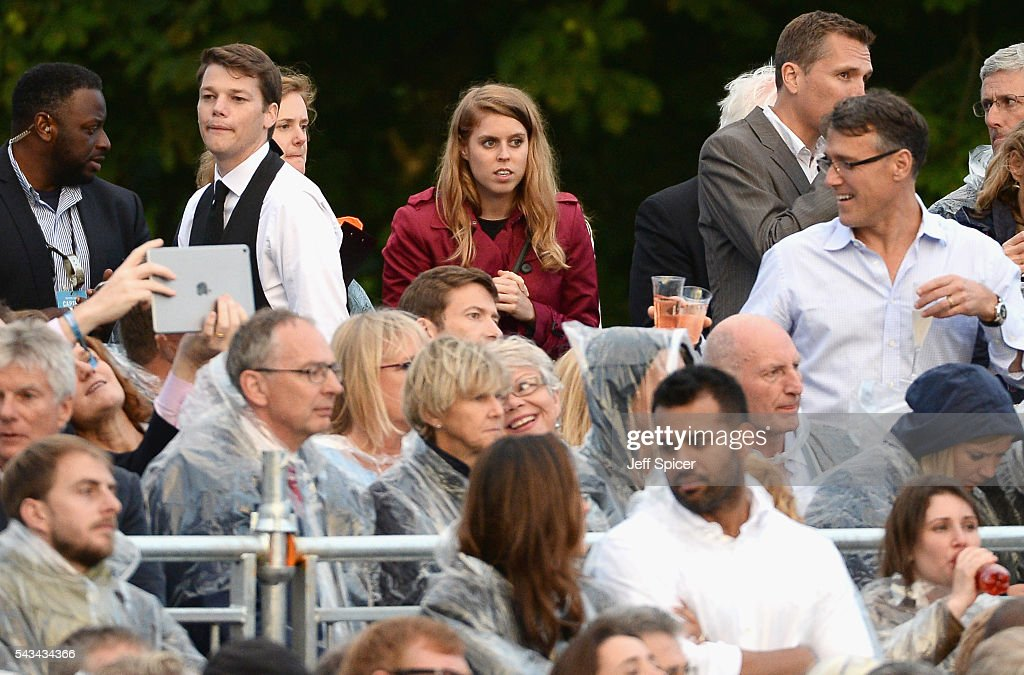 <a gi-track='captionPersonalityLinkClicked' href=/galleries/search?phrase=Princess+Beatrice+of+York&family=editorial&specificpeople=531999 ng-click='$event.stopPropagation()'>Princess Beatrice of York</a> attends the Sentebale Concert at Kensington Palace on June 28, 2016 in London, England. Sentebale was founded by Prince Harry and Prince Seeiso of Lesotho over ten years ago. It helps the vulnerable and HIV positive children of Lesotho and Botswana.
