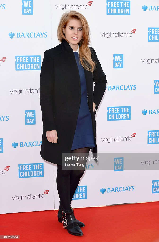 <a gi-track='captionPersonalityLinkClicked' href=/galleries/search?phrase=Princess+Beatrice+of+York&family=editorial&specificpeople=531999 ng-click='$event.stopPropagation()'>Princess Beatrice of York</a> attends We Day UK at Wembley Arena on March 5, 2015 in London, England.