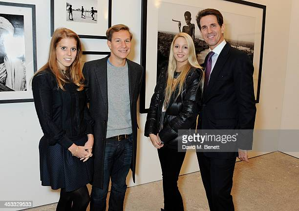 Princess Beatrice of York Dave Clark Princess MariaOlympia of Greece and Denmark and Prince Pavlos of Greece and Denmark attend a private view of...