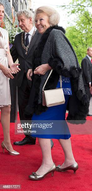 Princess Beatrix of The Netherlands attends the Freedom Concert on May 5 2014 in Amsterdam Netherlands