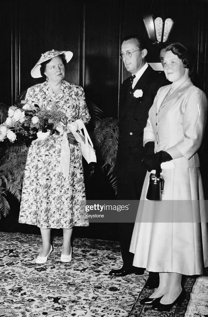 Princess Beatrix of the Netherlands during her official reception in Amsterdam on her first official visit to the city since reaching her majority...