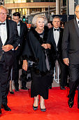 NLD: Princess Beatrix Of The Netherlands Visits Alvin Ailey American Dance Center In Rotterdam