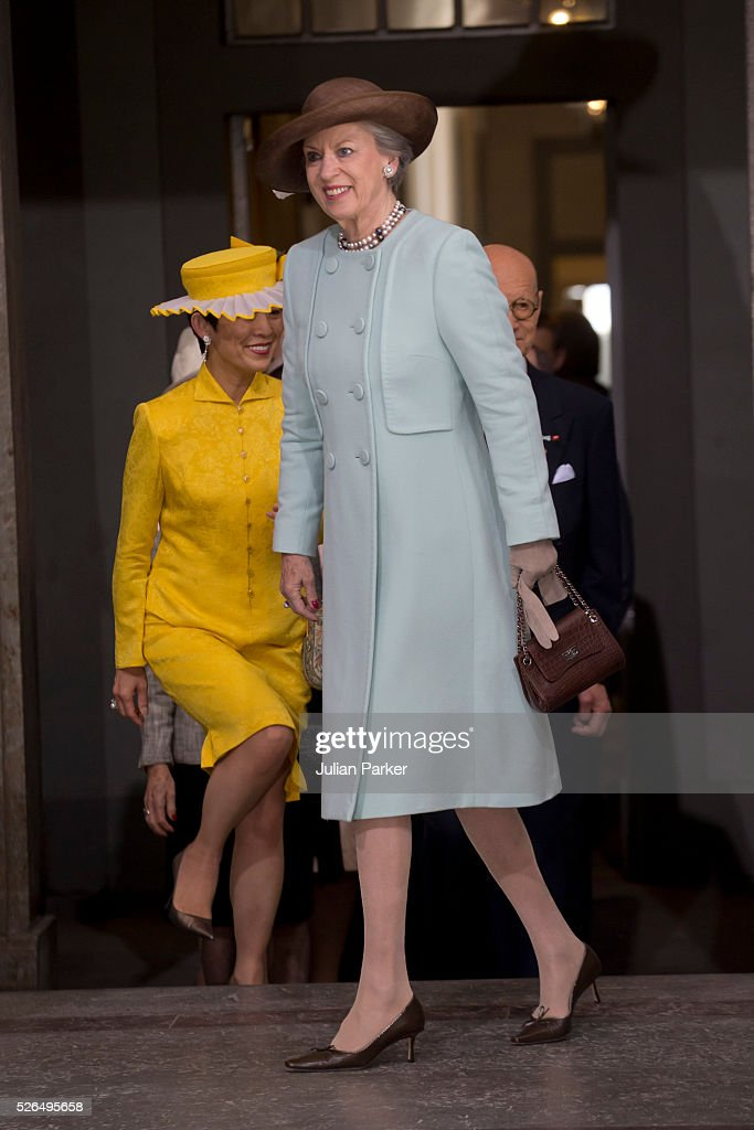 Princess Benedicte of Denmark arrives for the Te Deum Thanksgiving Service, at The Royal Palace, Stockholm, on the occasion of King Carl Gustaf of Sweden's 70th Birthday,on April 30, 2016, in Stockholm, Sweden.