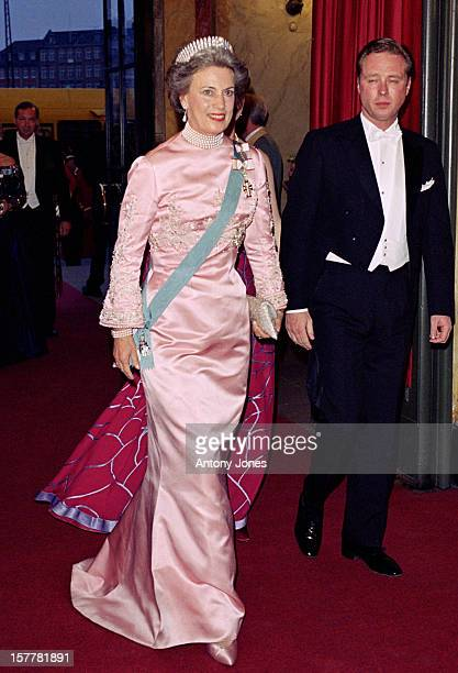 Princess Benedikte Attends Queen Margrethe Ii Of Denmark'S 60Th Birthday Celebrations In CopenhagenGala Performance At The Royal Theatre