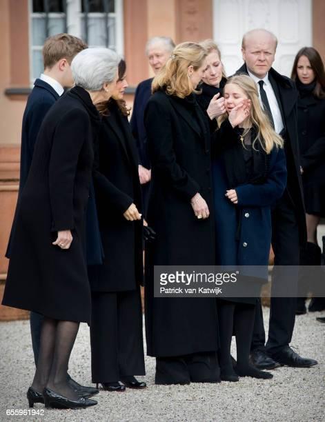 Princess Benedikte of Denmark Count Richard Carina Axelsson Princess Alexandra zu SaynWittgensteinBerleburg Countess Ingrid Princess Nathalie zu...