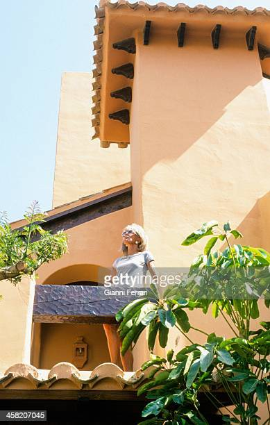 Princess Birgitta of Sweden in her villa in Santa Ponsa 17th May 1999 Palma de Mallorca Balearic Islands Spain