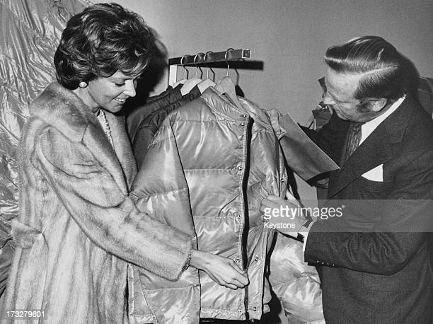 Princess Birgitta of Sweden visits the International Sports Equipment Fair in Munich Germany 22nd February 1974