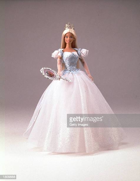 Princess Bride Barbie is a fairytale princess Once she raises her magical mirror to see Prince Ken music plays telling her and girls she has found...
