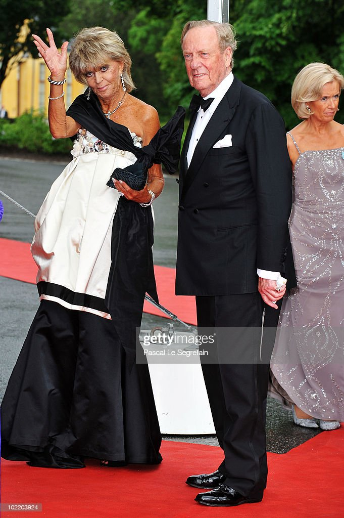 Princess Brigitta from Sweden and Prince Johann Georg of Hohenzollern attend the Government Pre-Wedding Dinner for Crown Princess Victoria of Sweden and Daniel Westling at The Eric Ericson Hall on June 18, 2010 in Stockholm, Sweden.