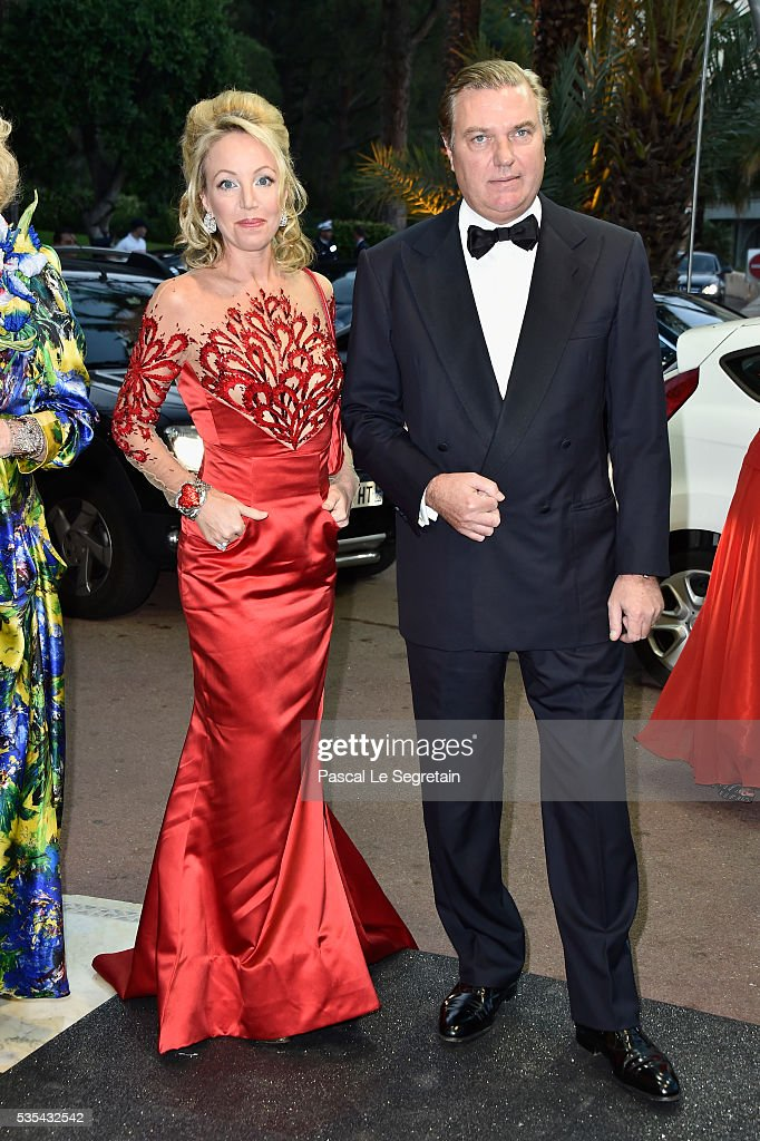 Princess Camilla of Bourbon-two Sicilies and Prince Charles of Bourbon-two Sicilies attend the ACM Gala Dinner as part of the F1 Grand Prix of Monaco on May 29, 2016 in Monte-Carlo, Monaco.